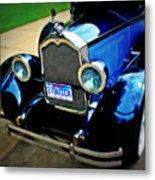 1927 Blue Buick Metal Print