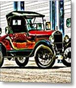 1927 Model T Ford Roadster Metal Print