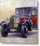 1927 Rolls-royce 40-50 Phantom 1  Metal Print