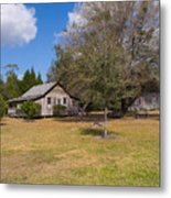 1927 Woods Home In Christmas Florida Metal Print