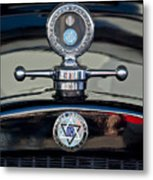 1928 Dodge Brothers Hood Ornament Metal Print