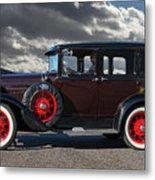 Classic 4 Door Ford Metal Print