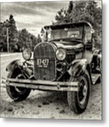 1929 Ford Model A Pickup Metal Print