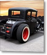 1929 Ford 'rock N Roll' Coupe Metal Print