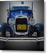 1929 Model A Ford Convertible Metal Print