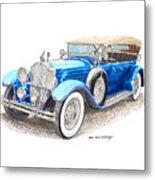 1929 Packard Dual Cowl Phaeton Metal Print