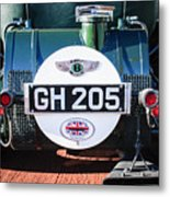 1930 Bentley Speed Six Taillights -0277c Metal Print
