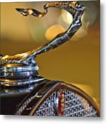 1930 Cadillac Roadster Hood Ornament Metal Print