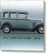 1930 Chevrolet Touring Sedan Metal Print
