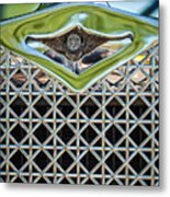 1930 Db Dodge Brothers Hood Ornament And Grille Metal Print