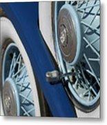 1930 Db Dodge Spare Tire Metal Print
