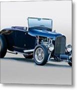 1930 Ford 'blu Mood' Roadster Metal Print