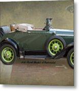 1930 Model A Ford Cabriolet Metal Print