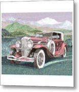 1930 Model J  Duesenberg Metal Print