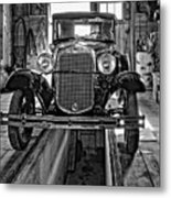 1930 Model T Ford Monochrome Metal Print
