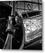 1930s Lockheed Electra Aircraft Metal Print