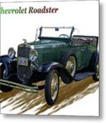 1931 Chevrolet Antique Roadster Metal Print
