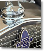 1931 Chevrolet Hood Ornament 2 Metal Print