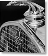 1931 Chevrolet Hood Ornament 4 Metal Print