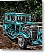1931 Chevy Hot Rod  Metal Print