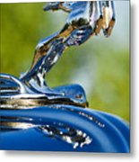 1931 Chrysler Cn Roadster Hood Ornament 2 Metal Print