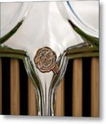 1931 Chrysler Coupe Grille Emblem Metal Print