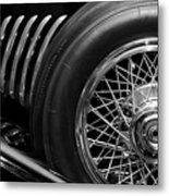1931 Duesenberg Model J Spare Tire 2 Metal Print