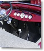 1931 Ford Dashboard Metal Print