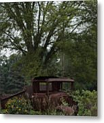 1931 Ford Model A Final Resting Place Metal Print