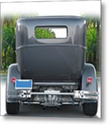1931 Ford Tudor Sedan 'see Ya' Metal Print