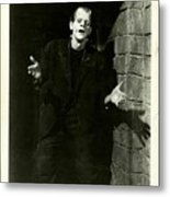 1931 Frankenstein Boris Karloff Metal Print