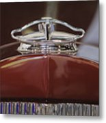 1931 Packard 840 Roadster Hood Ornament Metal Print