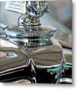 1931 Stutz Dv-32 Sedan Hood Ornament Metal Print