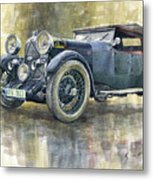 1932 Lagonda Low Chassis 2 Litre Supercharged Front Metal Print