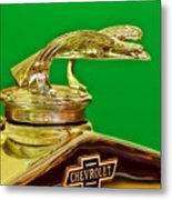 1932 Chevrolet Eagle Hood Ornament Metal Print