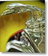 1932 Chevrolet Hood Ornament Metal Print