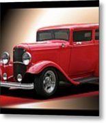 1932 Ford 'cherry Bomb' Sedan Metal Print