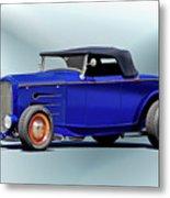 1932 Ford 'classic Hiboy' Roadster Xa Metal Print