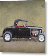 1932 Ford Convertible Street Rod Metal Print