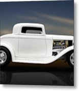 1932 Ford Coupe - 3 Window Metal Print
