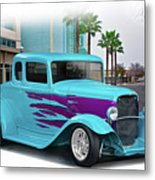1932 Ford 'down Town' Coupe Metal Print