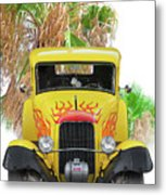 1932 Ford Five-window Coupe 'head On' I Metal Print