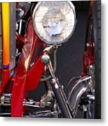 1932 Ford Hi-boy Roadster Headlight Metal Print