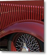 1932 Ford Hot Rod Wheel Metal Print