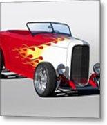 1932 Ford 'hot Stuff' Roadster Metal Print