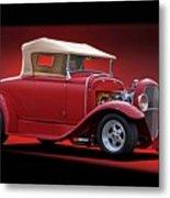 1932 Ford 'rag Top' Roadster Metal Print
