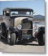 1932 Ford Tudor Sedan 'satin Doll' II Metal Print