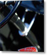 1932 Hot Rod Lincoln V12 Gear Shifter Metal Print
