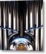 1932 Packard 12 Convertible Victoria Emblem Metal Print