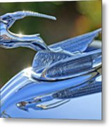 1933 Chrysler Imperial Hood Ornament 2 Metal Print